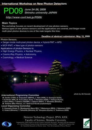 International Workshop on New Photon Detectors